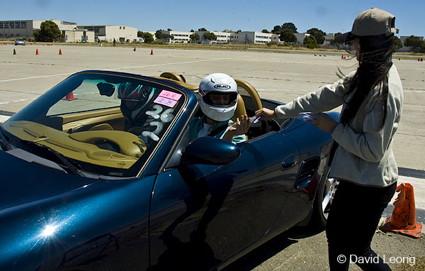 The Reckoning: An autocross school participant receives their timing slip at the end of thei</p /></span></p></div>
